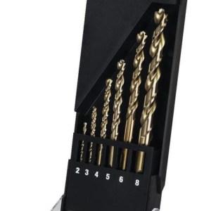 .ΣΕΤ ΤΡΥΠΑΝΙΑ ΚΟΒΑΛΤΙΟΥ EXTREME HSS-CO DW 2-8mm 6 ΤΕΜ (DT4956)