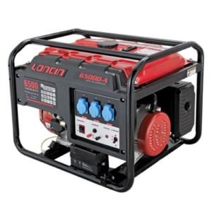 Loncin - LC6500D-A Μονοφασική Γεννήτρια με Μίζα