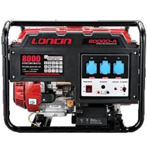 Loncin - LC8000D-A Μονοφασική Γεννήτρια με Μίζα