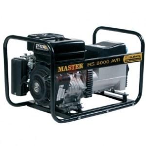 Γεννητρια Master RS 8000E AVR με ηλεκτρική εκκίνηση