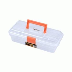 Tactix - Εργαλειοθήκη πλαστική, διάφανη (320104)