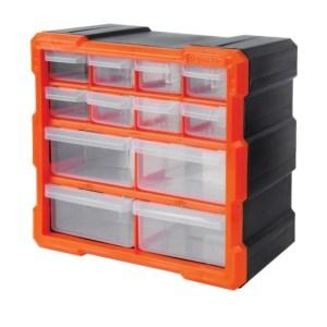 Tactix - Κουτί Αποθήκευσης πλαστικό ΜΕ 12 ΠΛΑΣΤΙΚΑ ΣΥΡΤΑΡΙΑ (320630)