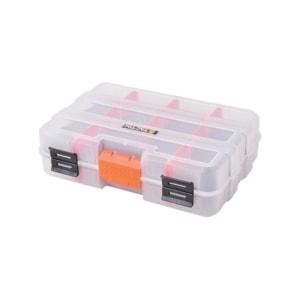 TACTIX- MINI διπλή ταμπακιέρα πλαστική με αποσπωμενες θηκες(320042)