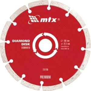 MTX PREMIUM Διαμαντόδισκος κοπής για τούβλο πέτρα και οπλισμένο μπετόν