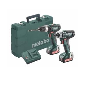 Metabo 12 Volt Combo Set Μπαταρίας 2.7.2 12V PowerMaxx SB 12 & PowerMaxx SSD 12