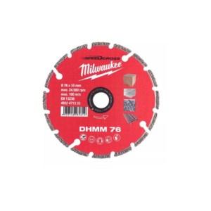 MILWAUKEE 4932471333 ΔΙΑΜΑΝΤΟΔΙΣΚΟΣ DHMM 76mm